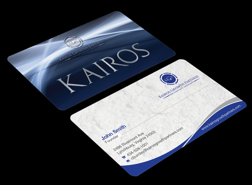 Kairos Growth Partners From Complexity: Opportunity Business Cards and Stationery  Draft # 198 by waterdropdesign