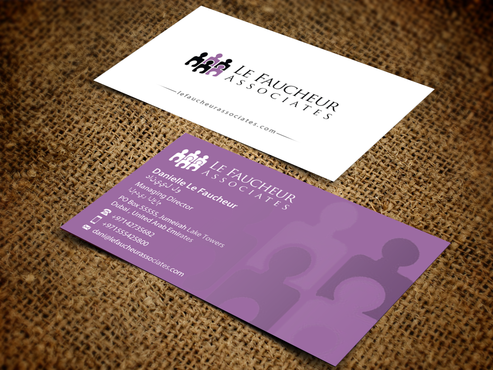 Le Faucheur Associates  Business Cards and Stationery Winning Design by einsanimation