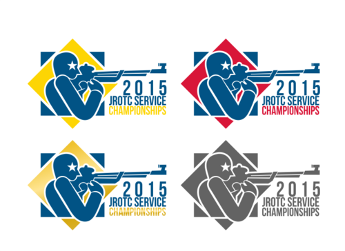 2015 JROTC Service Championships A Logo, Monogram, or Icon  Draft # 17 by verygloriz