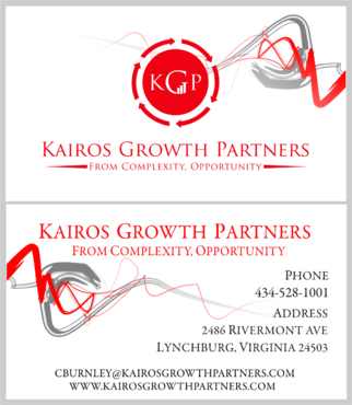 Kairos Growth Partners From Complexity: Opportunity Business Cards and Stationery  Draft # 207 by budiprayitno