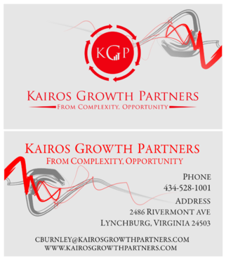 Kairos Growth Partners From Complexity: Opportunity Business Cards and Stationery  Draft # 208 by budiprayitno