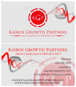 Kairos Growth Partners From Complexity: Opportunity Business Cards and Stationery  Draft # 209 by budiprayitno