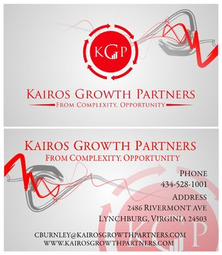 Kairos Growth Partners From Complexity: Opportunity Business Cards and Stationery  Draft # 210 by budiprayitno