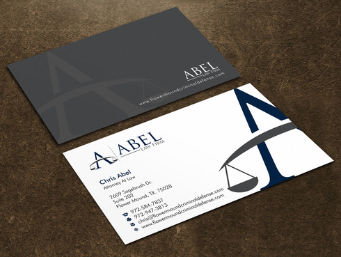 ABEL LAW FIRM Business Cards and Stationery Winning Design by Xpert
