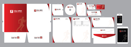 VO2 Max Medical: Sports Performance Testing  Business Cards and Stationery  Draft # 322 by ArtworksKingdom