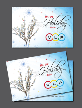 Happy Holidays Marketing collateral Winning Design by Achiver