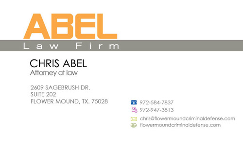 ABEL LAW FIRM Business Cards and Stationery  Draft # 153 by devoir00