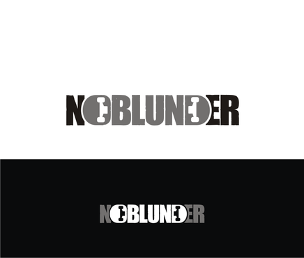 NOBlunder or No Blunder  A Logo, Monogram, or Icon  Draft # 140 by otakkecil