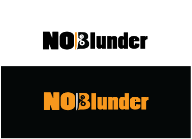 NOBlunder or No Blunder  A Logo, Monogram, or Icon  Draft # 153 by jegard