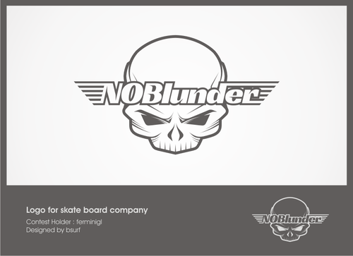 NOBlunder or No Blunder  A Logo, Monogram, or Icon  Draft # 159 by bsurf