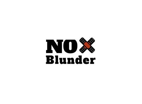 NOBlunder or No Blunder  A Logo, Monogram, or Icon  Draft # 161 by raymore