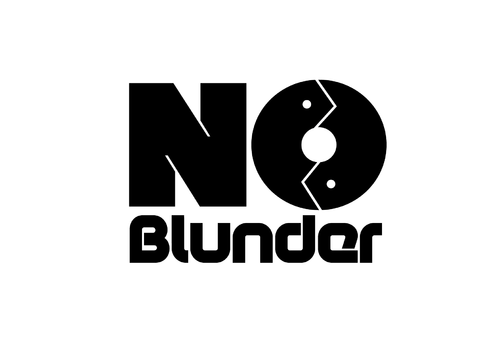 NOBlunder or No Blunder  A Logo, Monogram, or Icon  Draft # 169 by KenArrok