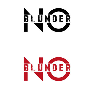 NOBlunder or No Blunder  A Logo, Monogram, or Icon  Draft # 200 by ts3d2d