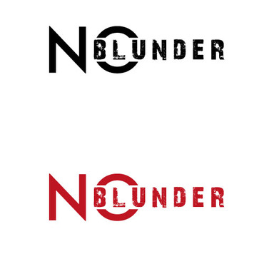 NOBlunder or No Blunder  A Logo, Monogram, or Icon  Draft # 203 by ts3d2d