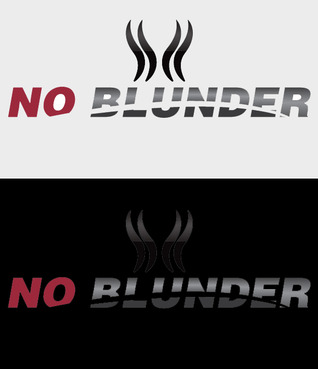 NOBlunder or No Blunder  A Logo, Monogram, or Icon  Draft # 226 by AMHeart1