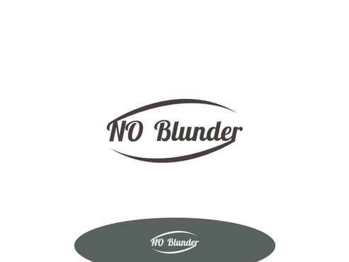 NOBlunder or No Blunder  A Logo, Monogram, or Icon  Draft # 231 by smoothdesign2200