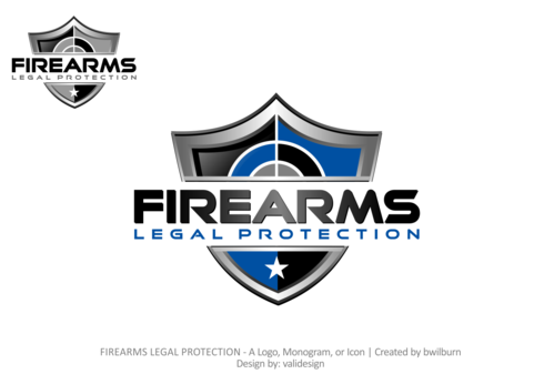 FIREARMS LEGAL PROTECTION A Logo, Monogram, or Icon  Draft # 545 by validesign