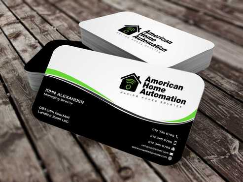 Business Cards and Stationary For Home Automation Company by Asterns