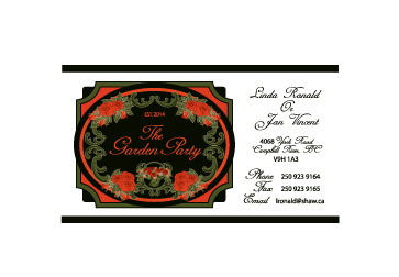 The Garden Party Business Cards and Stationery  Draft # 225 by melody1