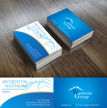 Westrom Group Business Cards and Stationery  Draft # 110 by humbledesign