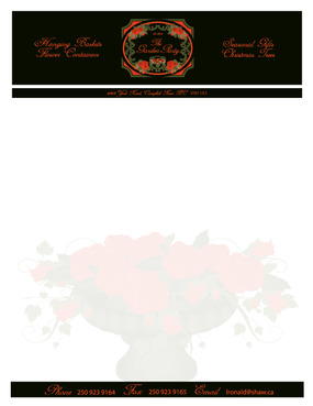 The Garden Party Business Cards and Stationery  Draft # 254 by melody1