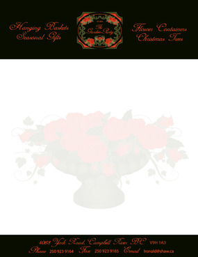The Garden Party Business Cards and Stationery  Draft # 292 by melody1