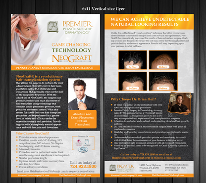 Premier Plastic Surgery & Dermatology Marketing collateral  Draft # 23 by Achiver