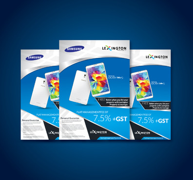 A4 Flyer  Promotion  Marketing collateral Winning Design by Kaiza