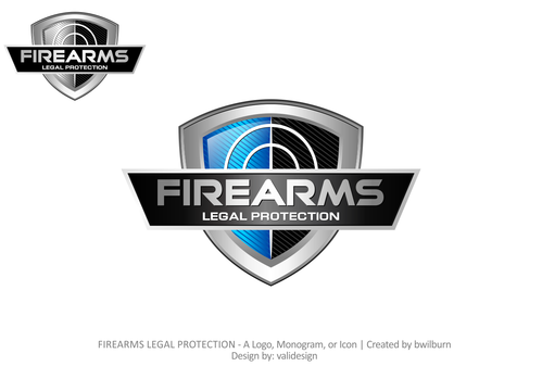 FIREARMS LEGAL PROTECTION A Logo, Monogram, or Icon  Draft # 741 by validesign
