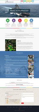 www.PartsLogistics.com Complete Web Design Solution  Draft # 22 by EXPartLogo