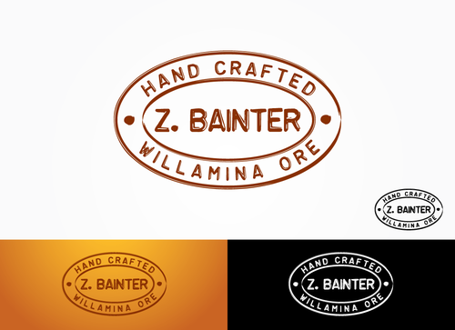 Hand Crafted / Z. Bainter / Willamina ORE Logo Winning Design by Sacril
