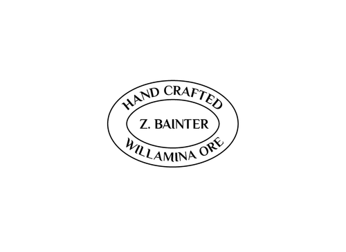 Hand Crafted / Z. Bainter / Willamina ORE A Logo, Monogram, or Icon  Draft # 8 by PeterZ