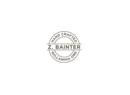 Hand Crafted / Z. Bainter / Willamina ORE A Logo, Monogram, or Icon  Draft # 9 by PeterZ