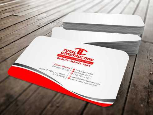 Modern and Professional Business Cards and Stationery  Draft # 363 by Dawson