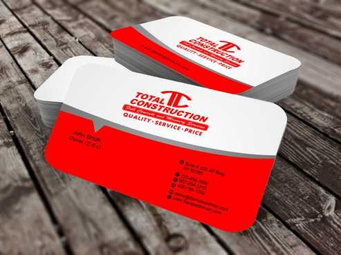 Modern and Professional Business Cards and Stationery  Draft # 375 by Dawson