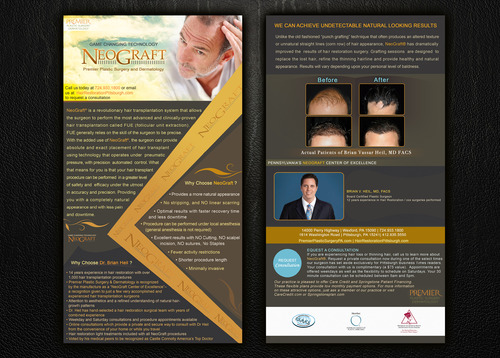 Premier Plastic Surgery & Dermatology Marketing collateral  Draft # 31 by Noaza