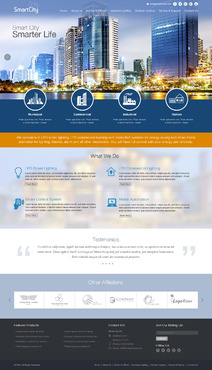 smart city smarter life Complete Web Design Solution  Draft # 116 by pivotal