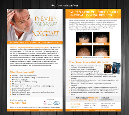 Premier Plastic Surgery & Dermatology Marketing collateral  Draft # 35 by Achiver