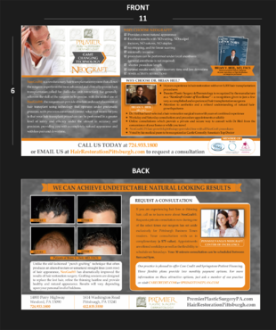 Premier Plastic Surgery & Dermatology Marketing collateral  Draft # 36 by asifwarsi