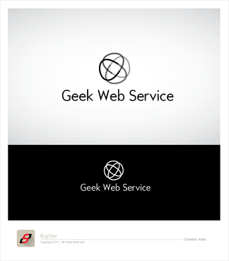 Geek Web Service A Logo, Monogram, or Icon  Draft # 10 by BigStar