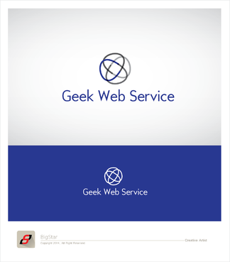 Geek Web Service A Logo, Monogram, or Icon  Draft # 11 by BigStar