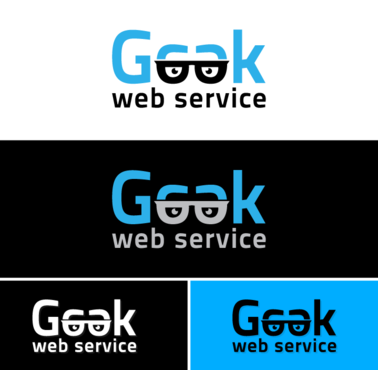 Geek Web Service Logo Winning Design by fawwaz