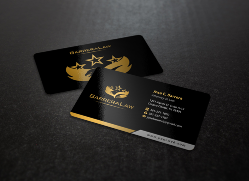 J. Barrera Law  Business Cards and Stationery  Draft # 98 by einsanimation