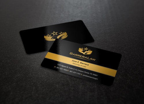 J. Barrera Law  Business Cards and Stationery  Draft # 105 by einsanimation