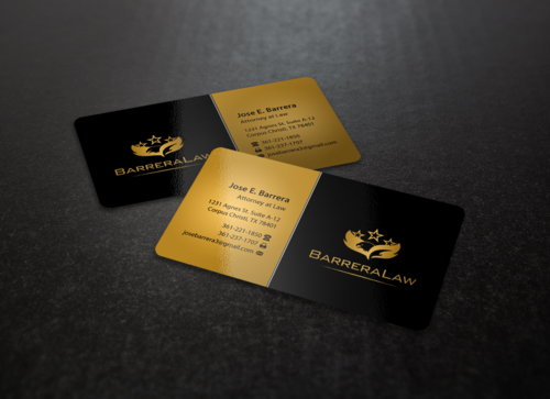 J. Barrera Law  Business Cards and Stationery  Draft # 110 by einsanimation