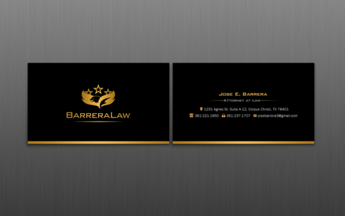 J. Barrera Law  Business Cards and Stationery  Draft # 109 by einsanimation