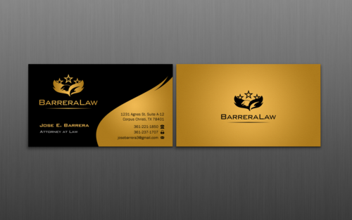 J. Barrera Law  Business Cards and Stationery  Draft # 112 by einsanimation