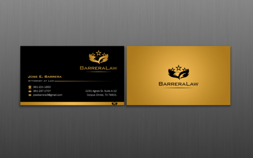 J. Barrera Law  Business Cards and Stationery  Draft # 115 by einsanimation