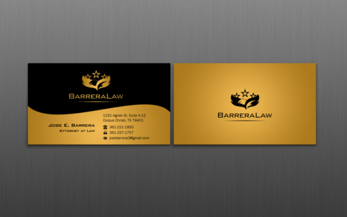 J. Barrera Law  Business Cards and Stationery  Draft # 114 by einsanimation