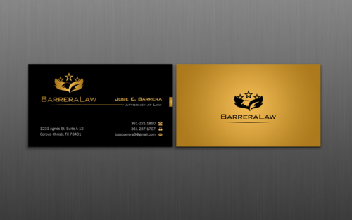 J. Barrera Law  Business Cards and Stationery  Draft # 113 by einsanimation